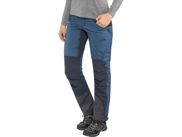 Lundhags Makke Pantaloni Donna, blu